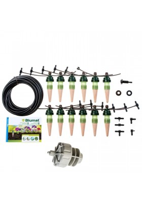 Tropf-Blumat set for 3 m plant boxes with pressure reducer