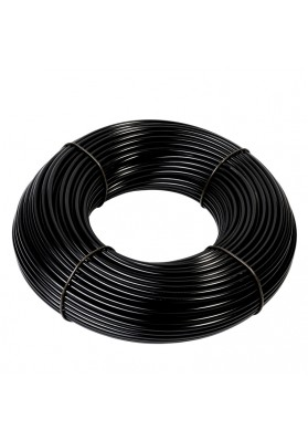 Supply tubing black, 100m roll