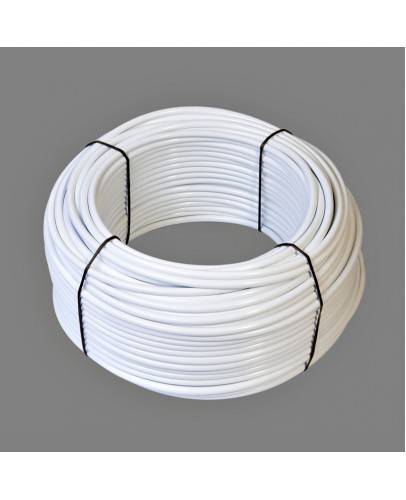 Supply tubing white, 25m roll