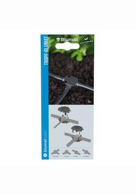 Klamra zabezpieczająca 8-3mm/8-8mm, 5szt. w blistrze Blumat