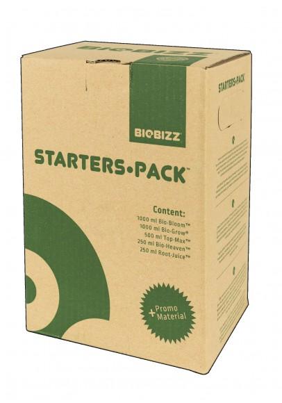 Zestaw startowy organicznych nawozów i busterów BIOBIZZ