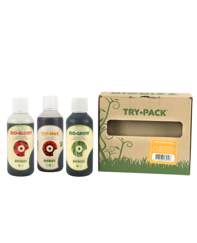 Biobizz TRY-PACK INDOOR 3x250ml
