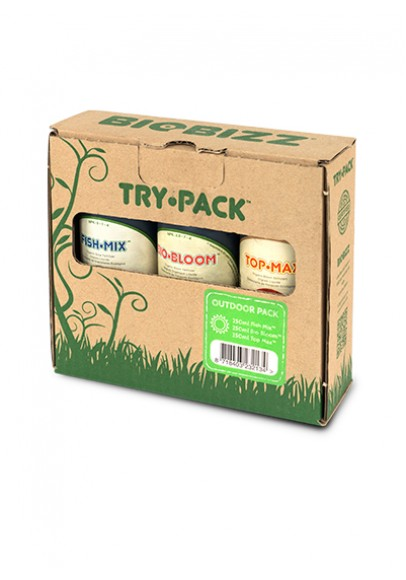 Biobizz TRY-PACK OUTDOOR 3x250ml